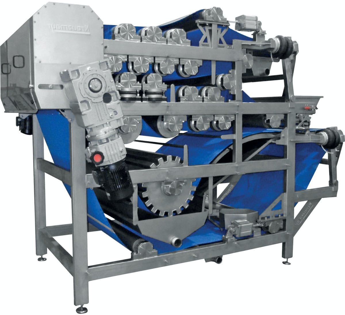 Kreuzmayr Double Belt Press - sold by Juicing Systems