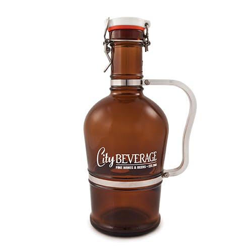 2 Liter Growler (Item # CHIMM-JSEWN) Growler sold by InkEasy