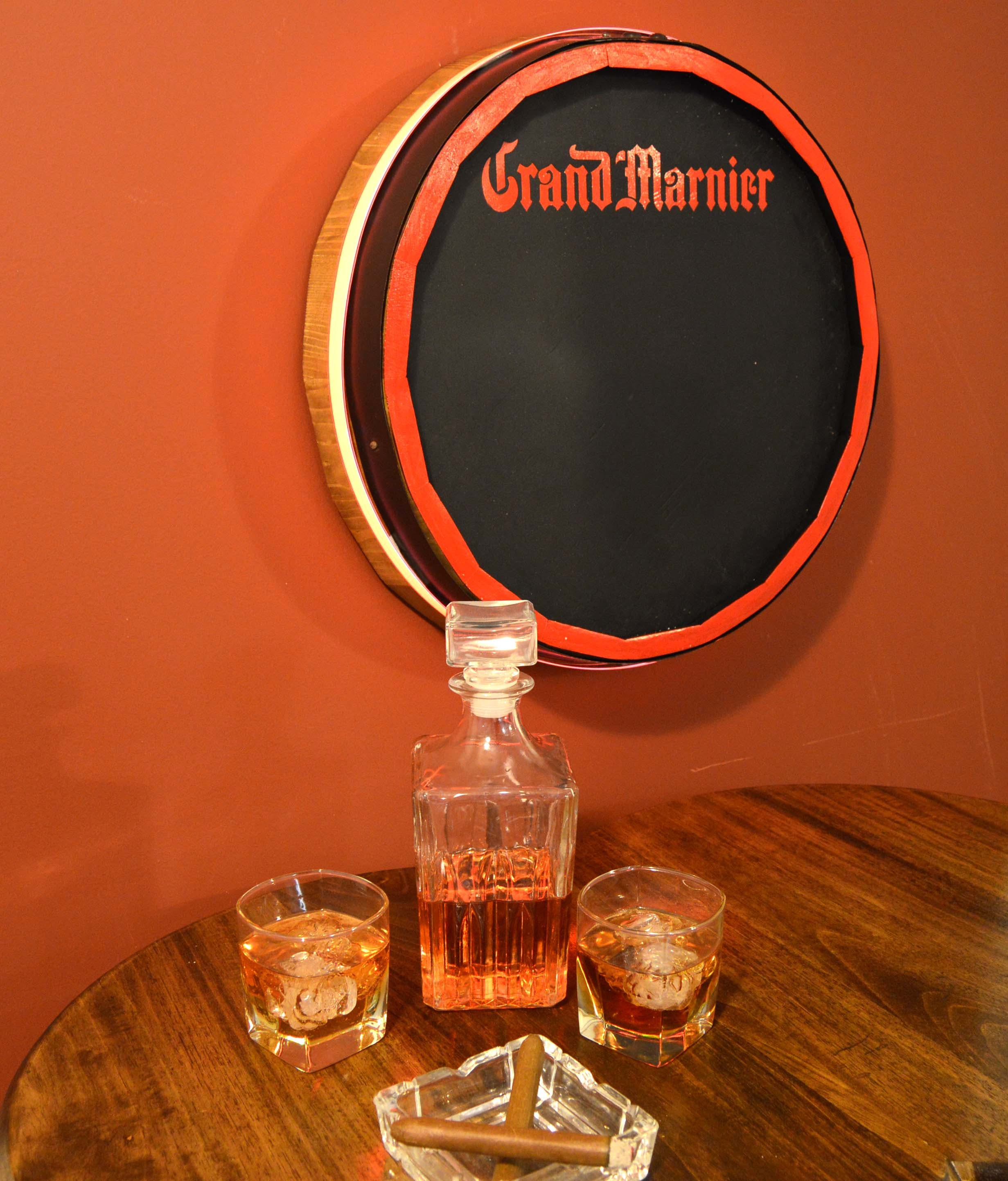 Quarter Barrel Chalkboards Wine barrel sold by Thousand Oaks Barrel Co.