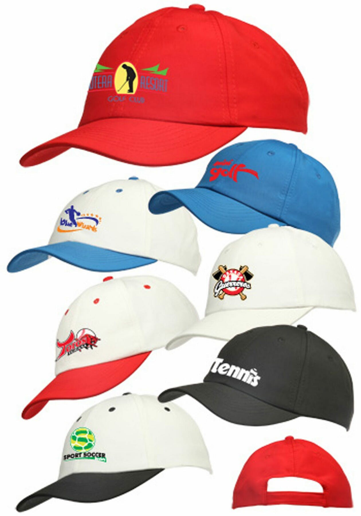 Polyester Cap (Item # XHFLS-HOKTH) Promotional cap sold by InkEasy