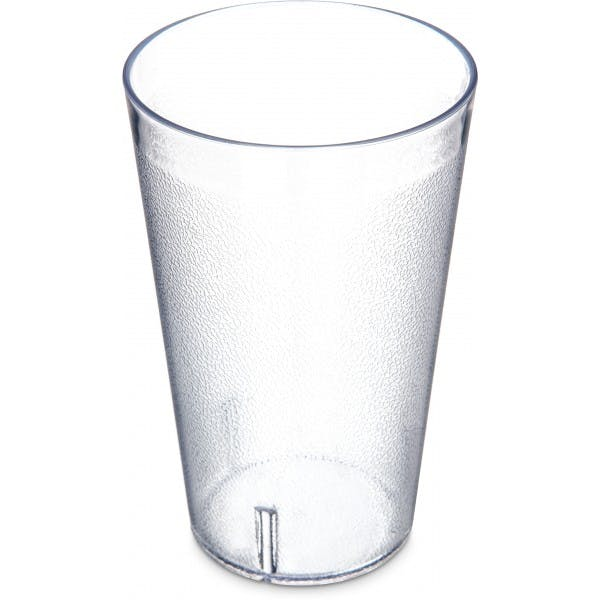 32 oz. Clear Pebbled Stackable Plastic Tumbler - COP5232AM-07