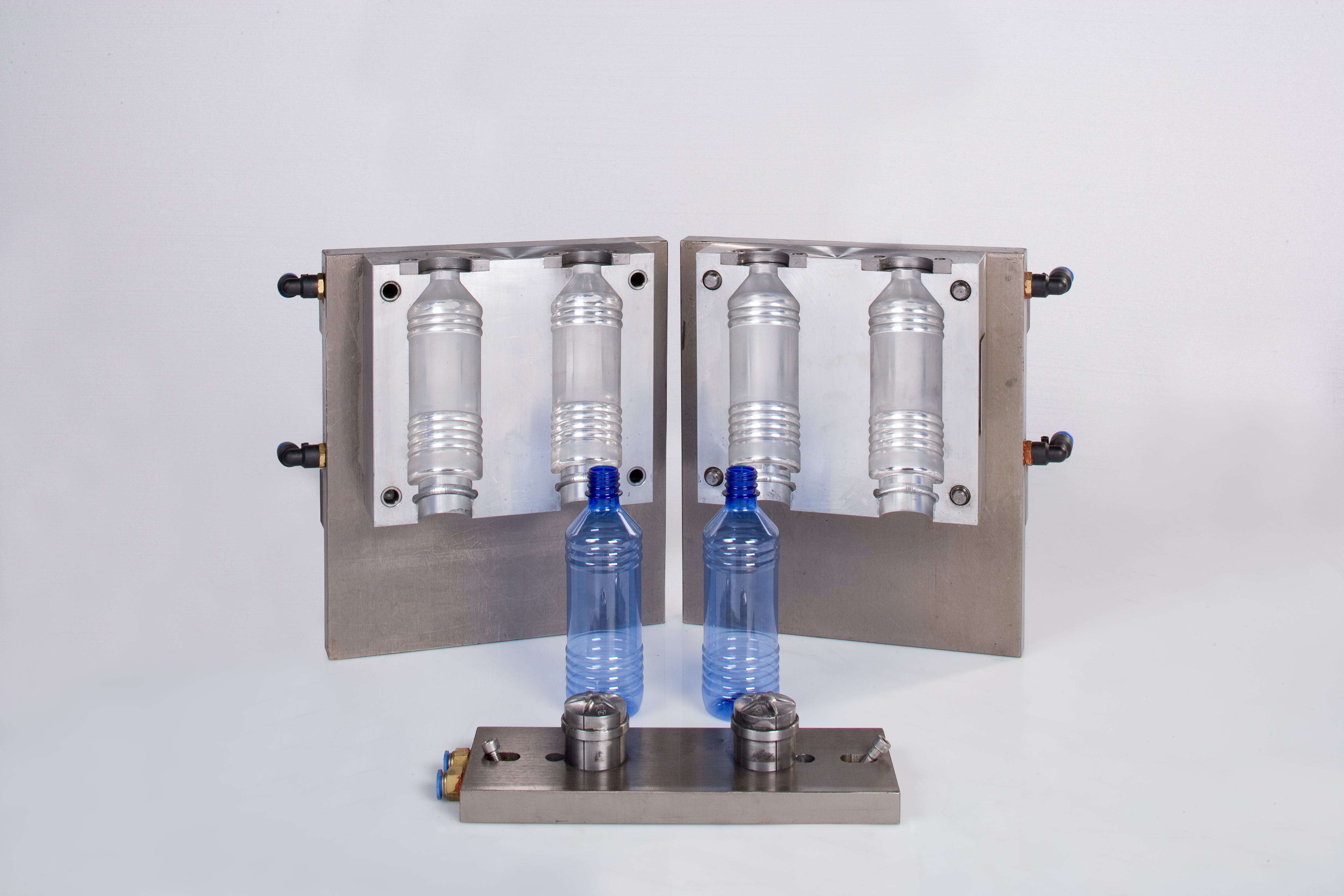 2-Bottle Mold (All molds are customized to customers request) - Blow Molder (Designed for water bottles only) - sold by American Beer Equipment