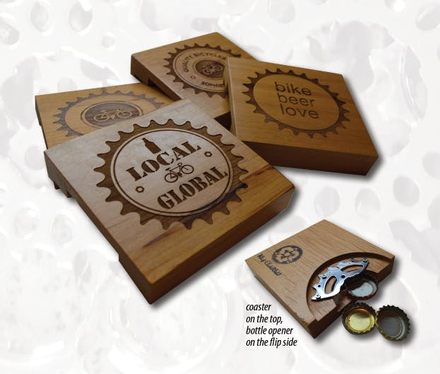 2 in 1 Bottle Opener Coasters