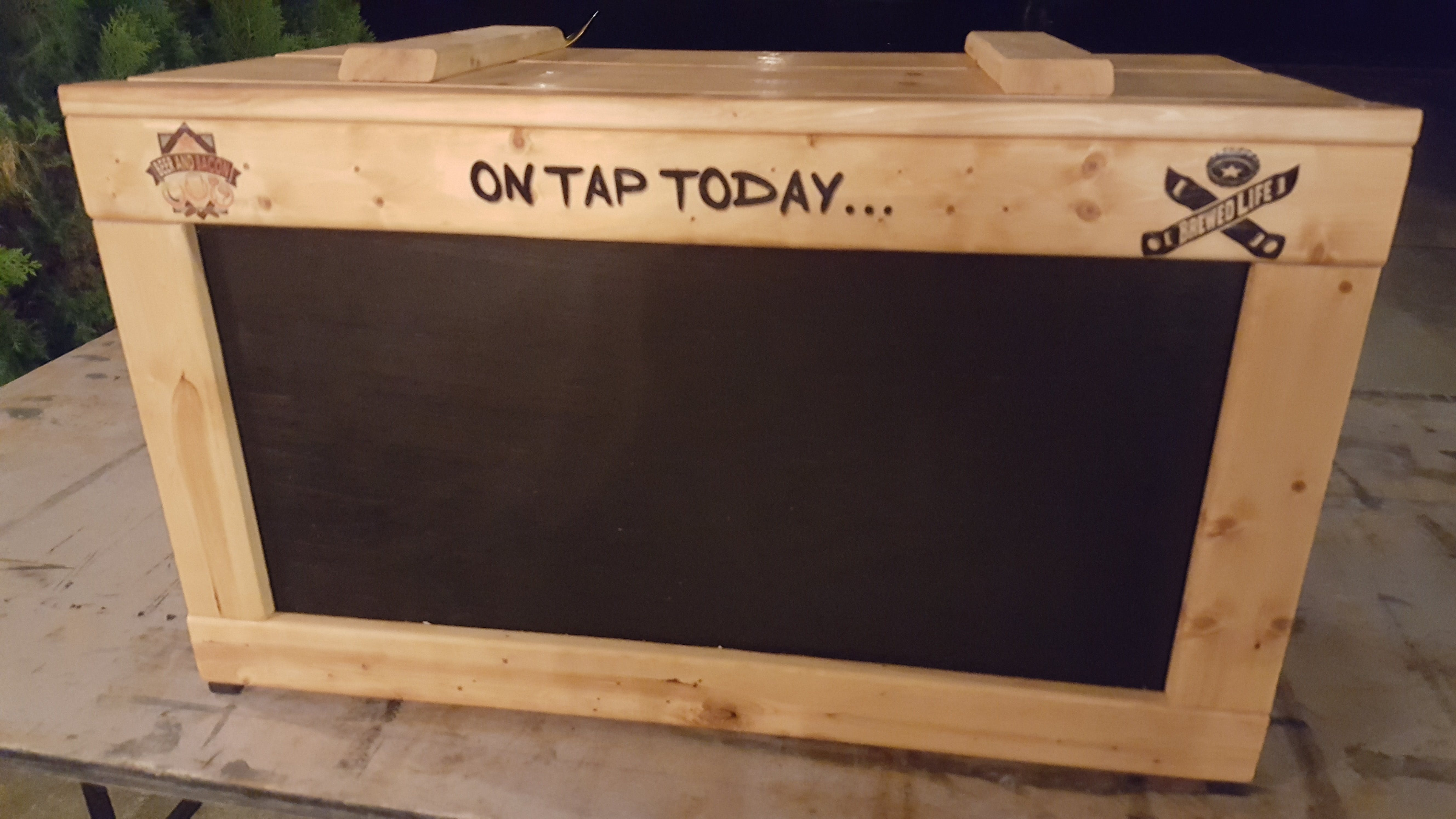 Jockey Box Cover - sold by Palm City Tap Handles