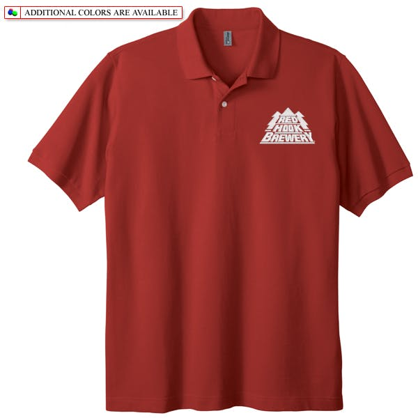 NEW District Threads Modern Pique Polo Promotional shirt sold by MicrobrewMarketing.com