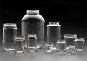 W/M Rounds Glass Jar sold by Kaufman Container