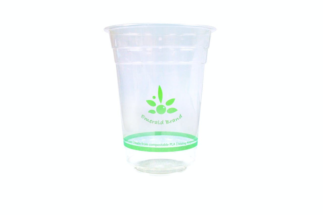 16 oz Compostable Cold Cup Disposable cup sold by Emerald Brand