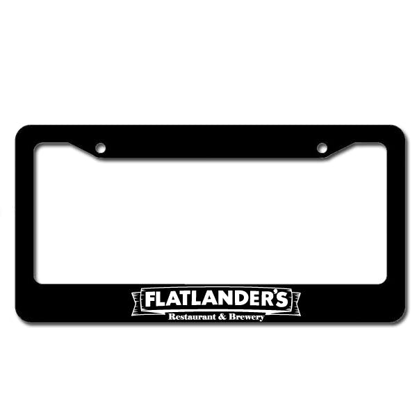 License Plate Frame Promotional product sold by MicrobrewMarketing.com