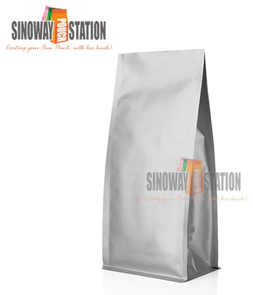 Foil Block Bottom Pouch Bag sold by sinowaypouchstation.com,LLC