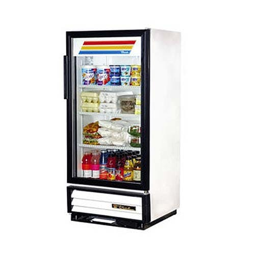 "True - GDM-10 25"" Swing Glass Door Merchandiser Refrigerator Commercial refrigerator sold by Food Service Warehouse"