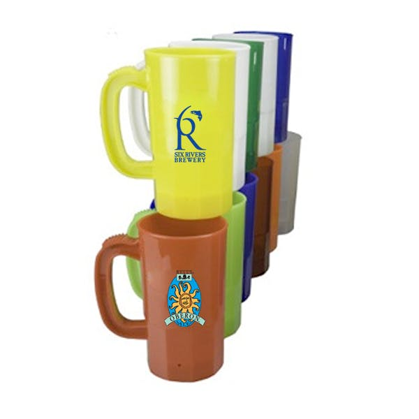 14 oz. Stein Plastic cup sold by MicrobrewMarketing.com