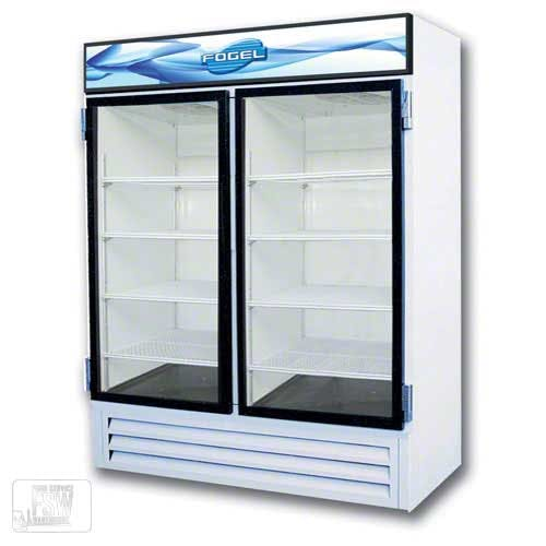 "Fogel - CR-49-US 60"" Glass Door Merchandiser Commercial refrigerator sold by Food Service Warehouse"
