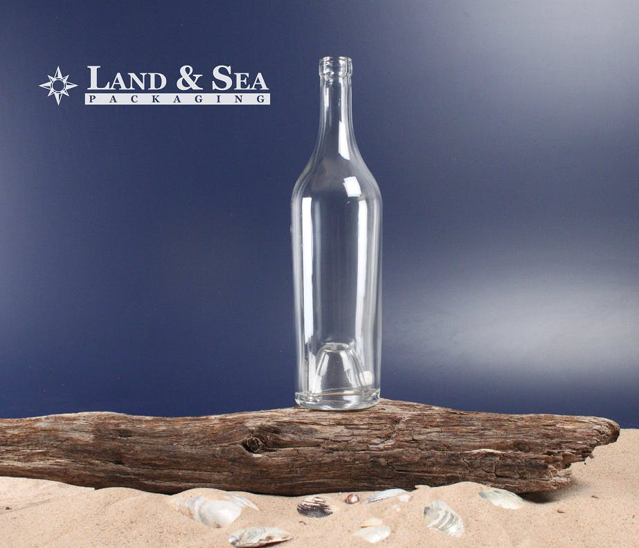 Exception Spirit Bottle Liquor bottle sold by Land & Sea Packaging