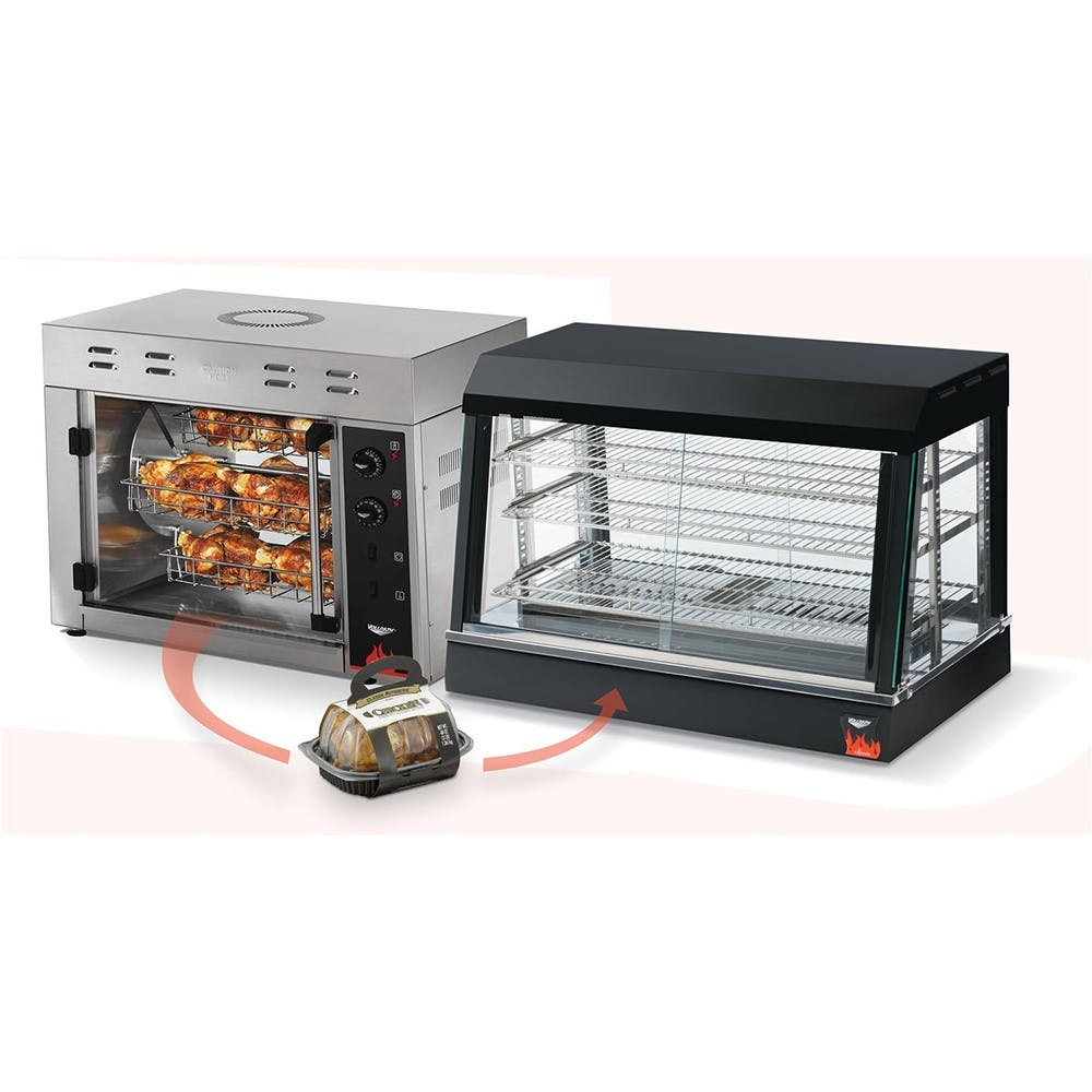 Vollrath 40704 Cayenne 8 Bird Countertop Rotisserie Oven Commercial oven sold by Mission Restaurant Supply