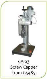 Capping Machines Bottle capper sold by Liquid Solutions