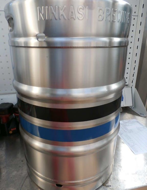 Belly Band Silk Screening Keg sold by BLEFA Kegs Inc.