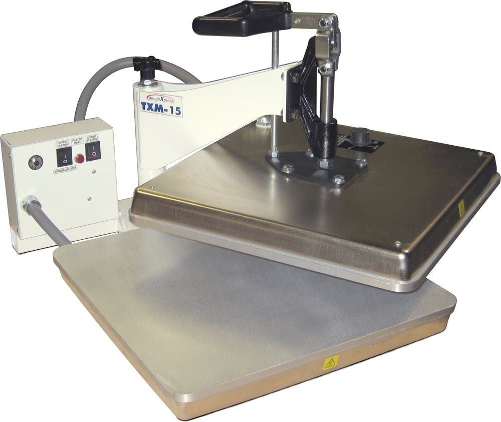 TXM-15 Tortilla press sold by DoughXPress
