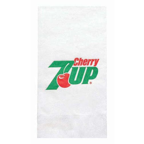 Napkins, 1-Ply White NapkinsHL130DN8, White Dinner, 1/8 Fold, Coin Edge Embossing Napkin sold by Distrimatics, USA