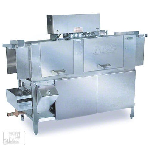 American Dish Service - ADC-66-L 244 Rack/Hr Low Temp Conveyor Dishwasher Commercial dishwasher sold by Food Service Warehouse