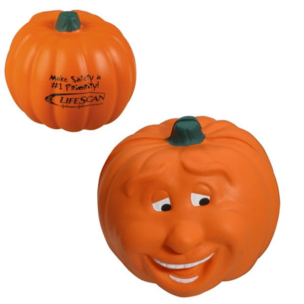 Ariel :: Pumpkin Smile - LHO-PS07 Stress reliever sold by Distrimatics, USA