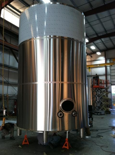 20 bbl brite tank Bright tank sold by Marks Design and Metalworks