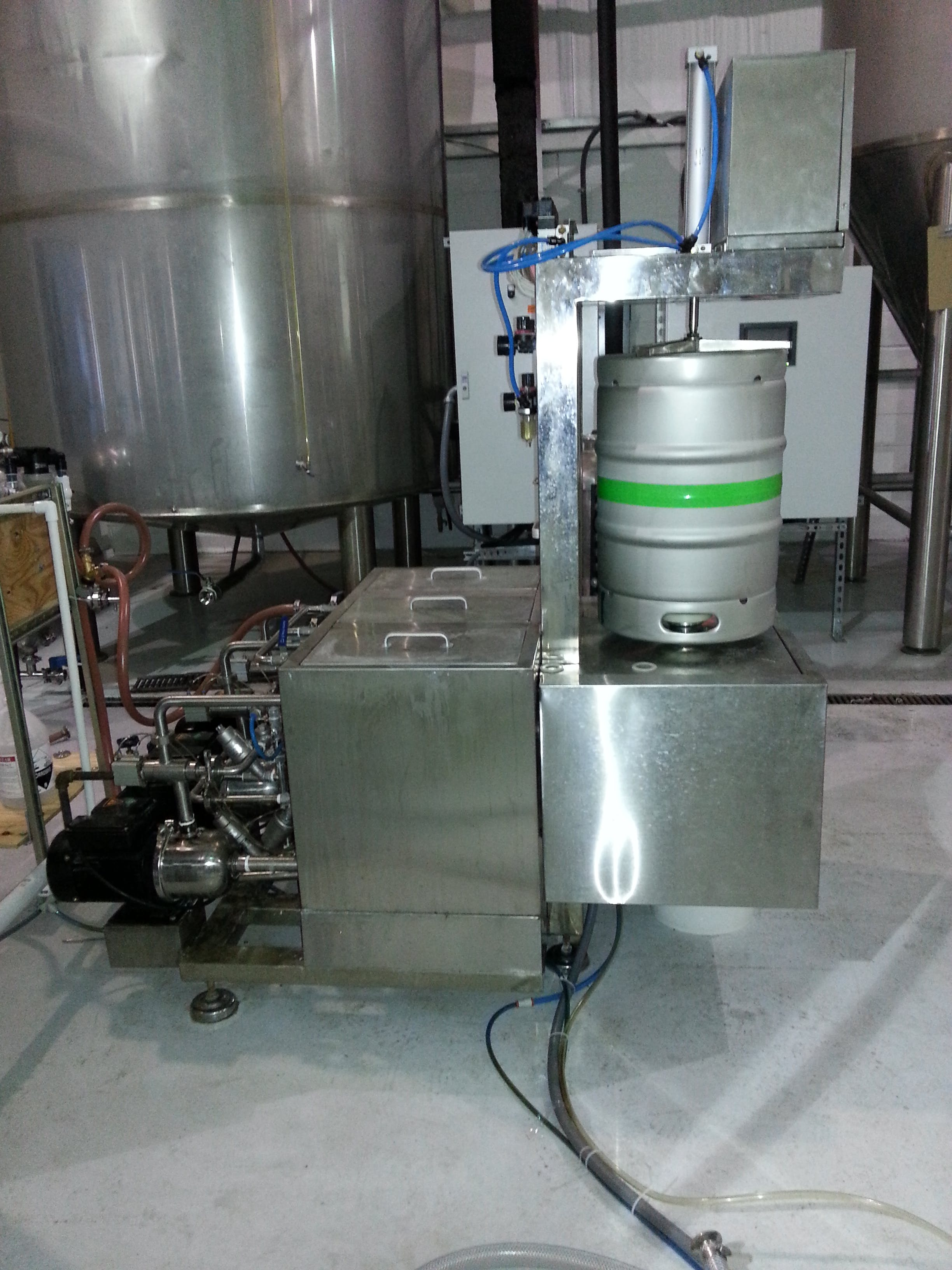 Keg Washer Filler Keg washer sold by Brew Bev