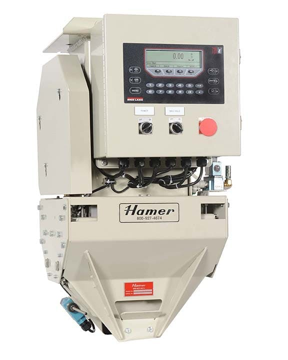 Hamer-Fischbein - 100GW - Gross Weigh Scale Bag filling machine sold by Package Devices LLC