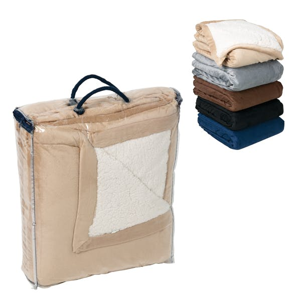 Sherpa Blanket Promotional product sold by MicrobrewMarketing.com