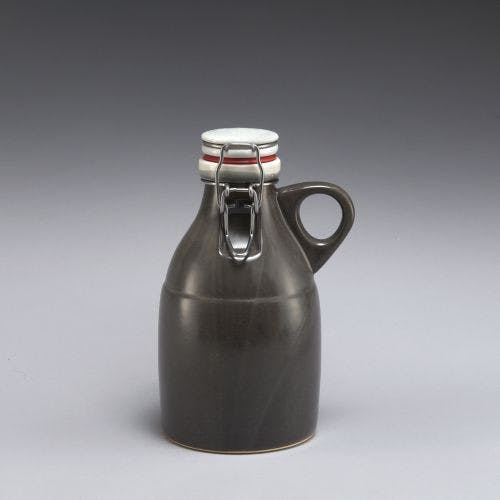 Grigri Growlette - Satin Grey 32oz Growler sold by Portland Growler Company
