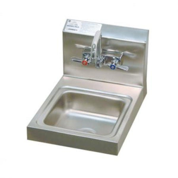 "9"" Stainless Hand Sink"