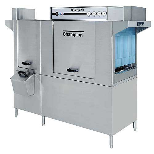 Champion - 66 DRPW 208 Rack/Hr High Temp Conveyor Dishwasher w/ Prewash Commercial dishwasher sold by Food Service Warehouse