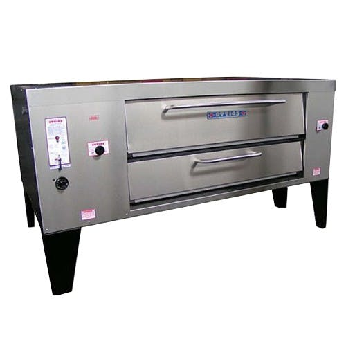Attias Master Deck Pizza Oven Pizza deck oven sold by pizzaovens.com