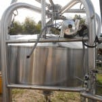 BL-2031- Cone bottom tank 250 gallon Dairy tank sold by Ullmer's Dairy Equipment