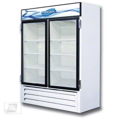 "Fogel - VR-35-RE-US 56"" Glass Door Merchandiser Commercial refrigerator sold by Food Service Warehouse"