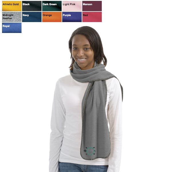 Port Authority - R-Tek Fleece Scarf Promotional apparel sold by MicrobrewMarketing.com