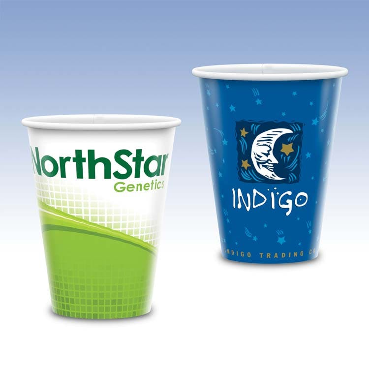 Tall 12oz-Heavy Duty Paper Hot Cup-Hi-Definition Full Color Promotional Paper Product sold by Ink Splash Promos™, LLC