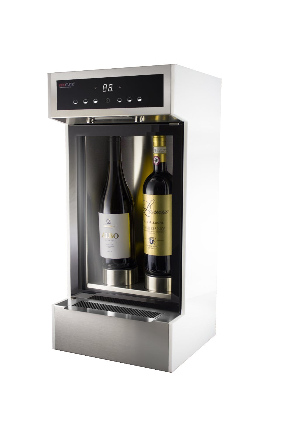 ENO ONE® 2bottle module system Wine bar sold by Enomatic Wine Serving Systems