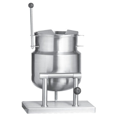 Vulcan-Hart (K12DTT) - 12 gallon Tilting Direct Steam Kettle Steam kettle sold by Food Service Warehouse