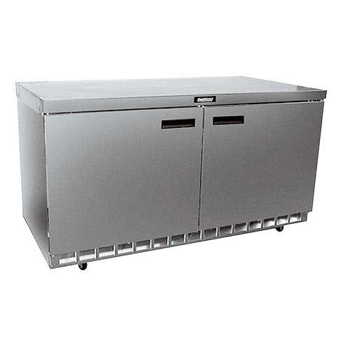 "Delfield - 4460N 60"" Worktop Refrigerator Commercial refrigerator sold by Food Service Warehouse"