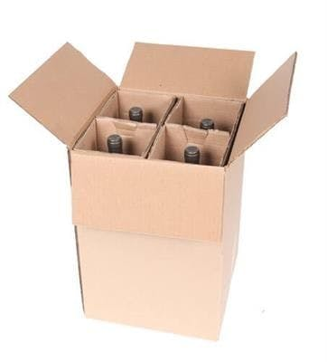 Four Magnum Bottle Wine Shipper Wine shipper sold by SpiritedShipper