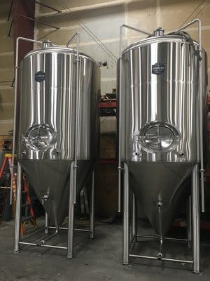 30 BBL Fermenter Fermenter sold by Pioneer Tank and Vessel