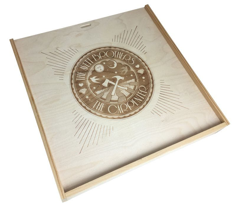 Specialty Wooden Boxes - Wood - imprint - sold by Cactus Corrugated Containers Inc.