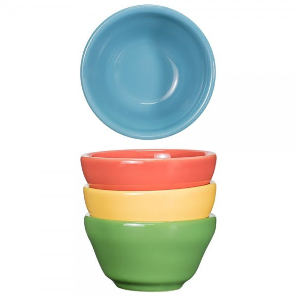 Festivale 8.5 oz. Assorted Colors Bouillon Bowl