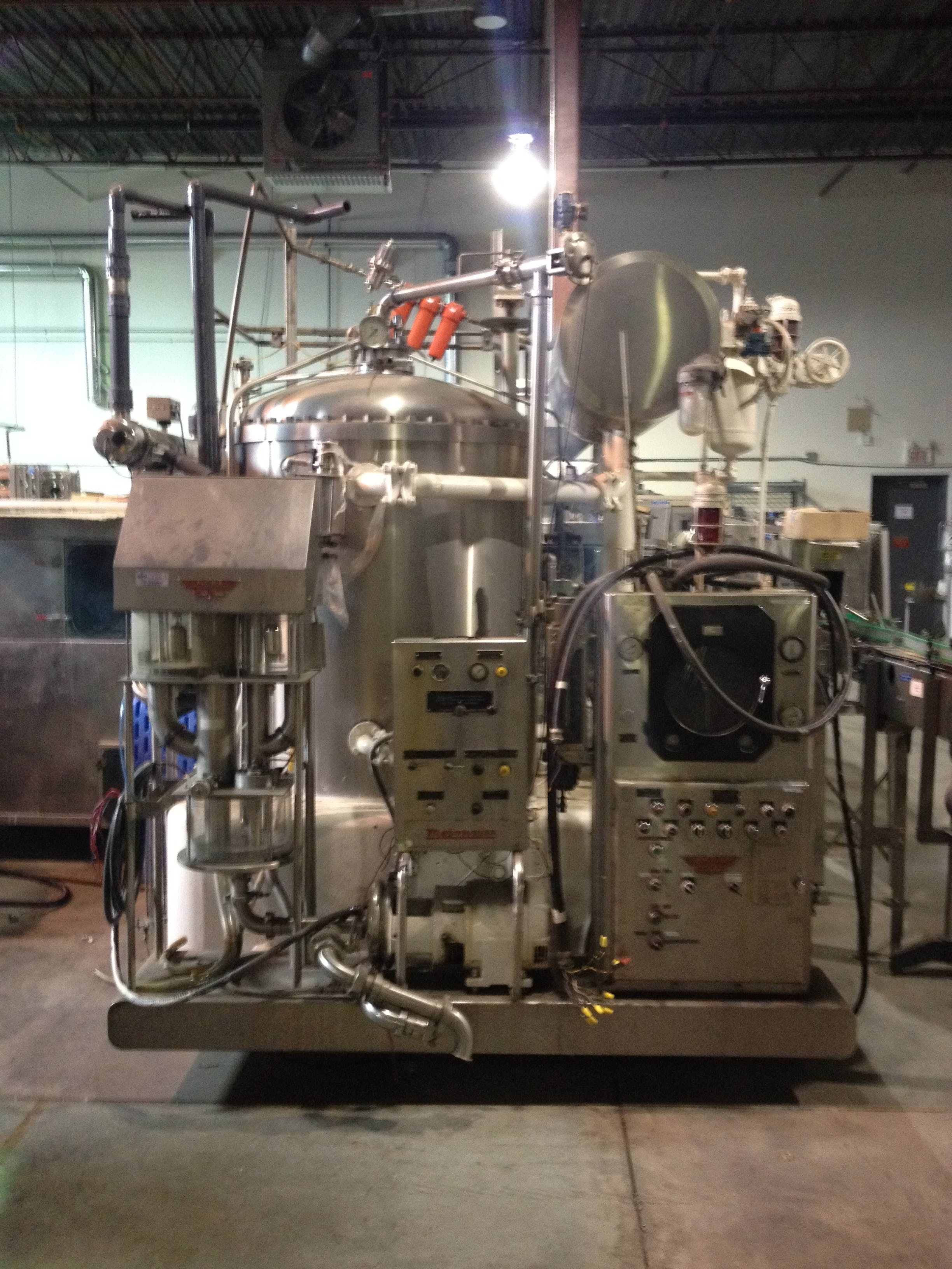 MOJONNIER Carbocooler + Flow mix + UV water Purificator Carbonation unit sold by Aevos Equipment