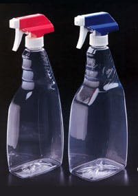 Sprayer Grip Oblong Plastic bottle sold by Kaufman Container Company