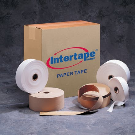 Intertape™ Convoy Heavy Kraft Paper Tape Kraft packaging sold by Ameripak, Inc.