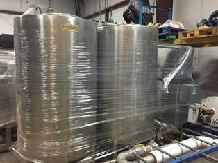 Sani-Matic Twin Tank CIP System  CIP system sold by Beverage Industries