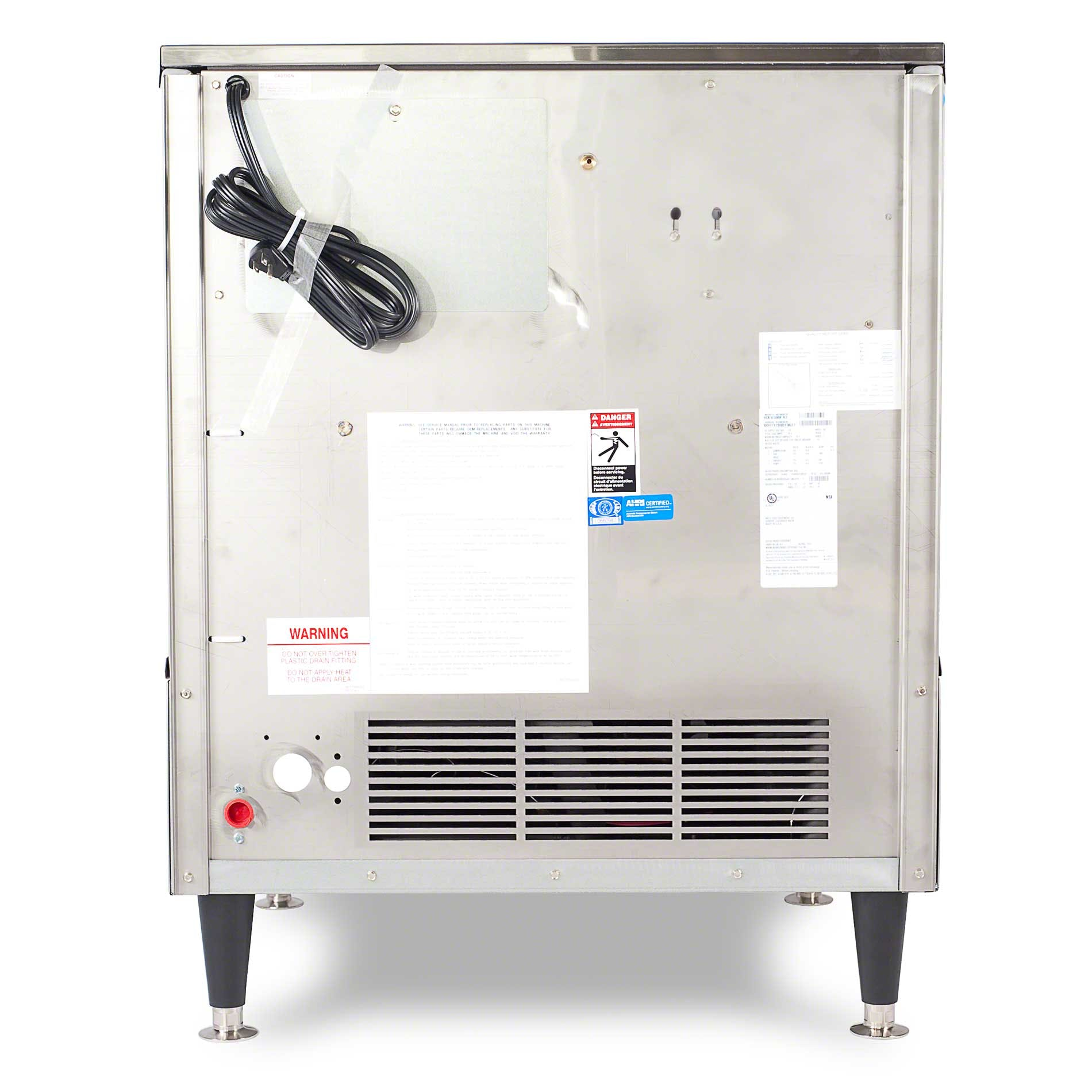 Ice-O-Matic - ICEU300HW 356 lb Self-Contained Half Cube Ice Machine Ice machine sold by Food Service Warehouse