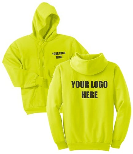 Custom Screen Printed Hooded Sweatshirts Promotional apparel sold by TshirtNY