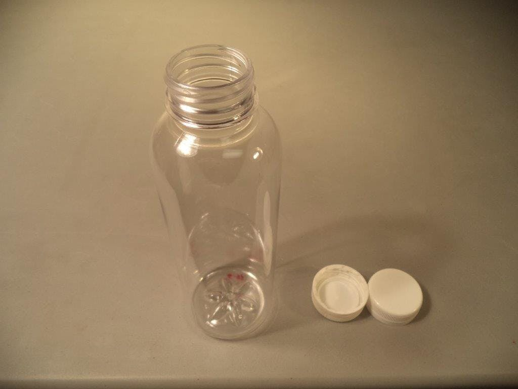 16.9oz Round Bottle Plastic bottle sold by Crystal Vision Packaging Systems